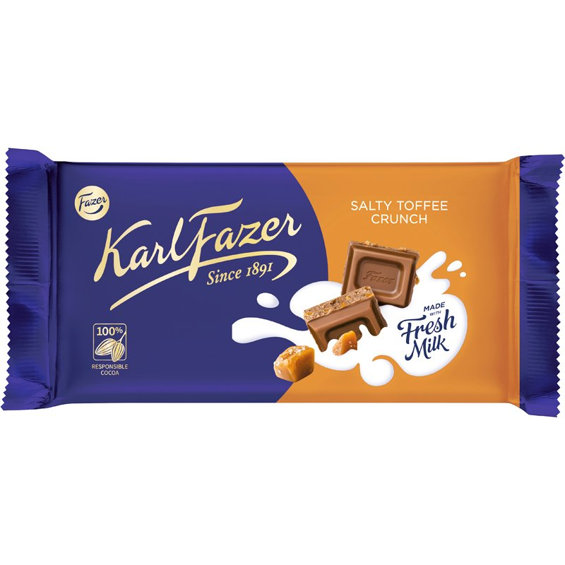 Chokladkaka Salty Toffee Crunch - 41% rabatt