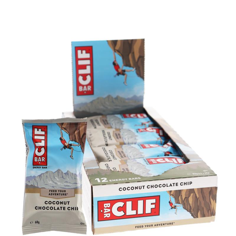 Energiapatukat Coconut & Chocochip 12kpl - 32% alennus
