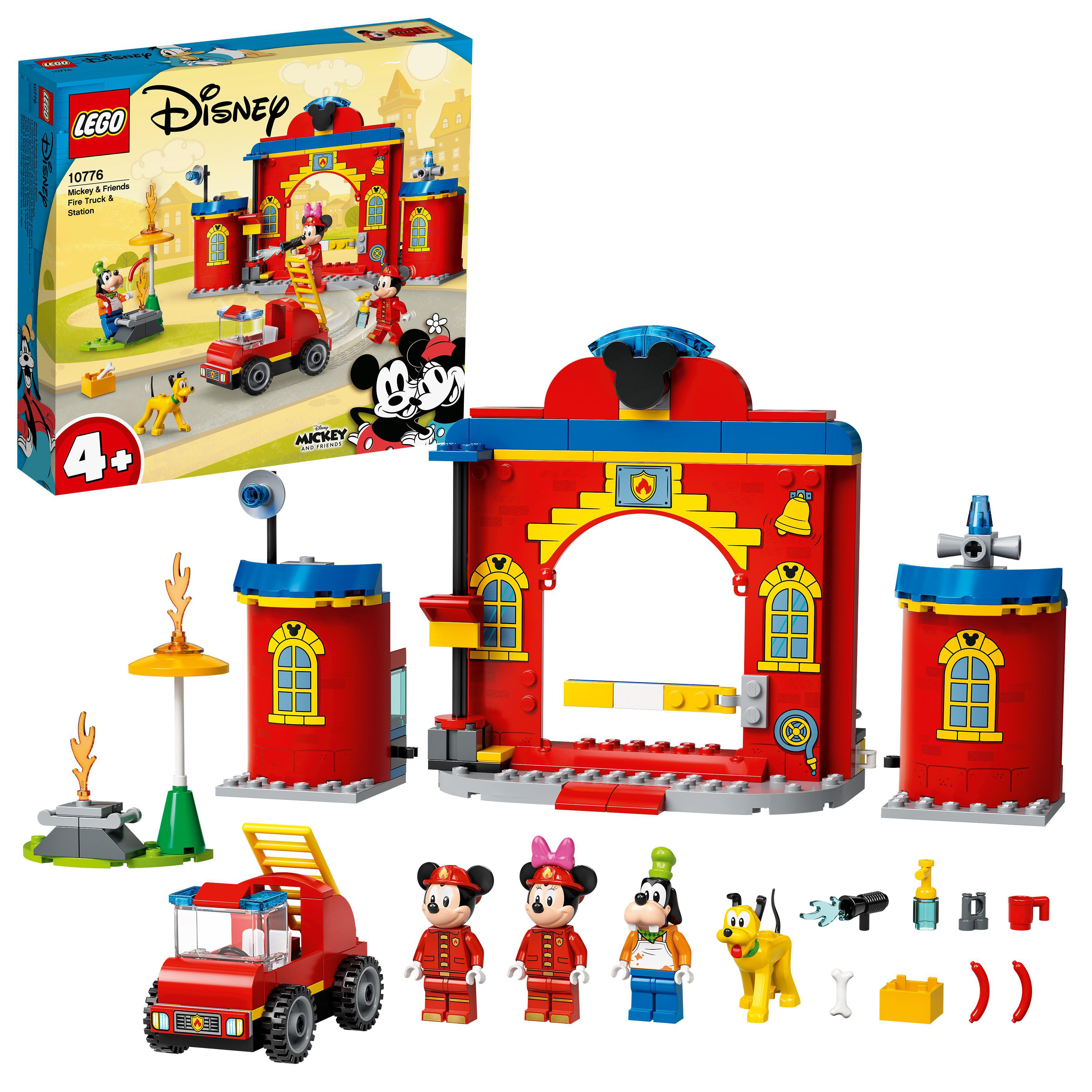 LEGO Mickey Mouse - Mickey & Friends Fire Truck & Station (10776)