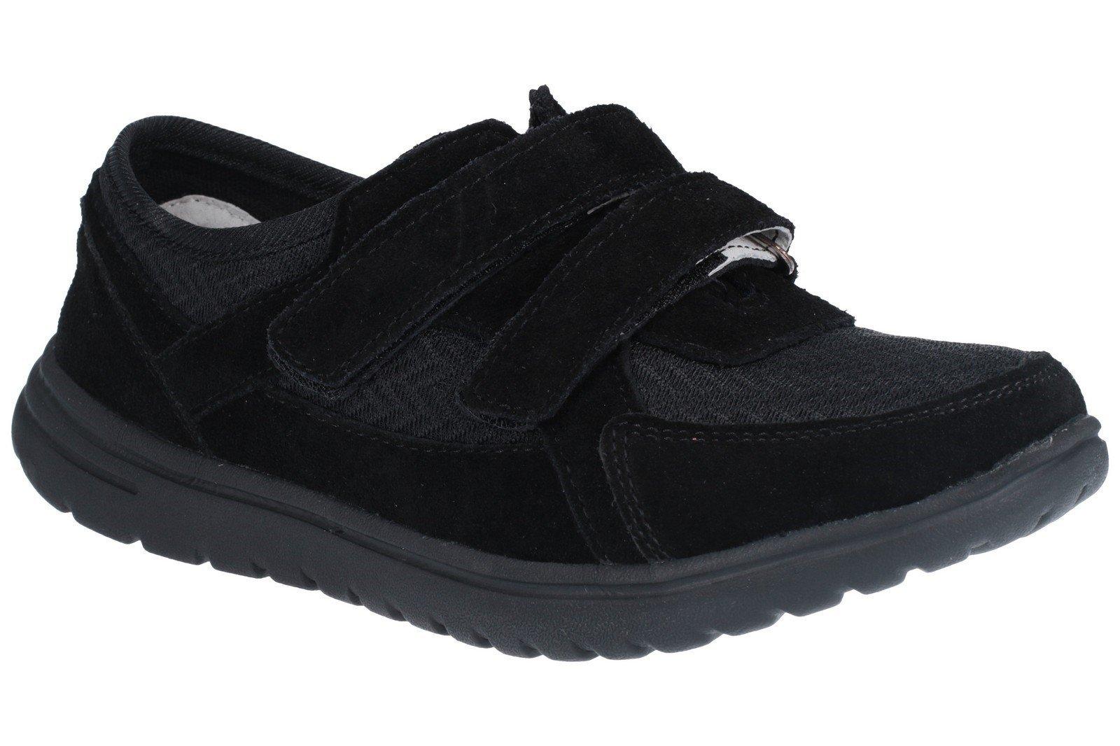 Fleet & Foster Women's Jean Touch Fasten Shoe Black 27154-45624 - Black 3
