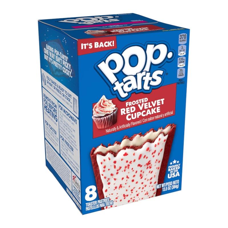 Kelloggs Pop-Tarts Frosted Red Velvet Cupcake 384g