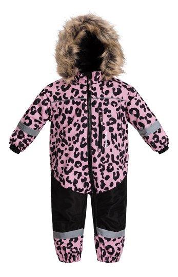 Nordbjørn Igloo Vinterdress, Pink Nectar Leopard 68