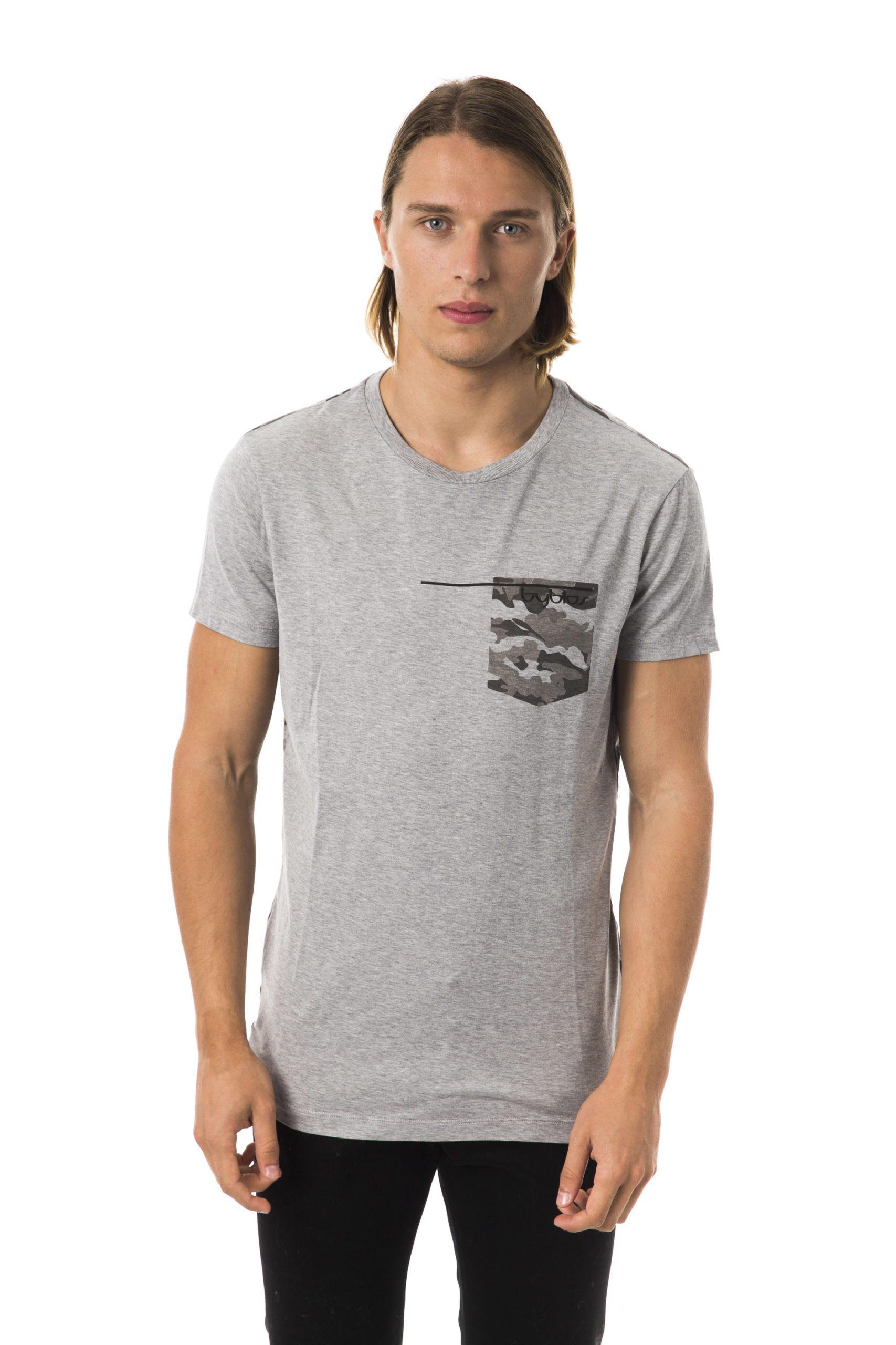 Byblos Men's T-Shirt Gray BY678532 - M