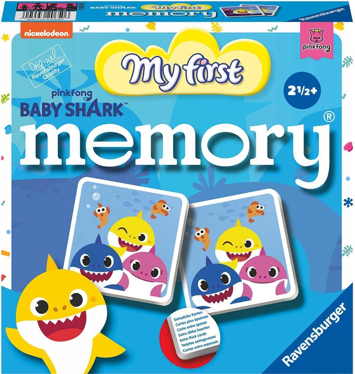 Ravensburger Memory® Mitt första Memory, Baby Shark