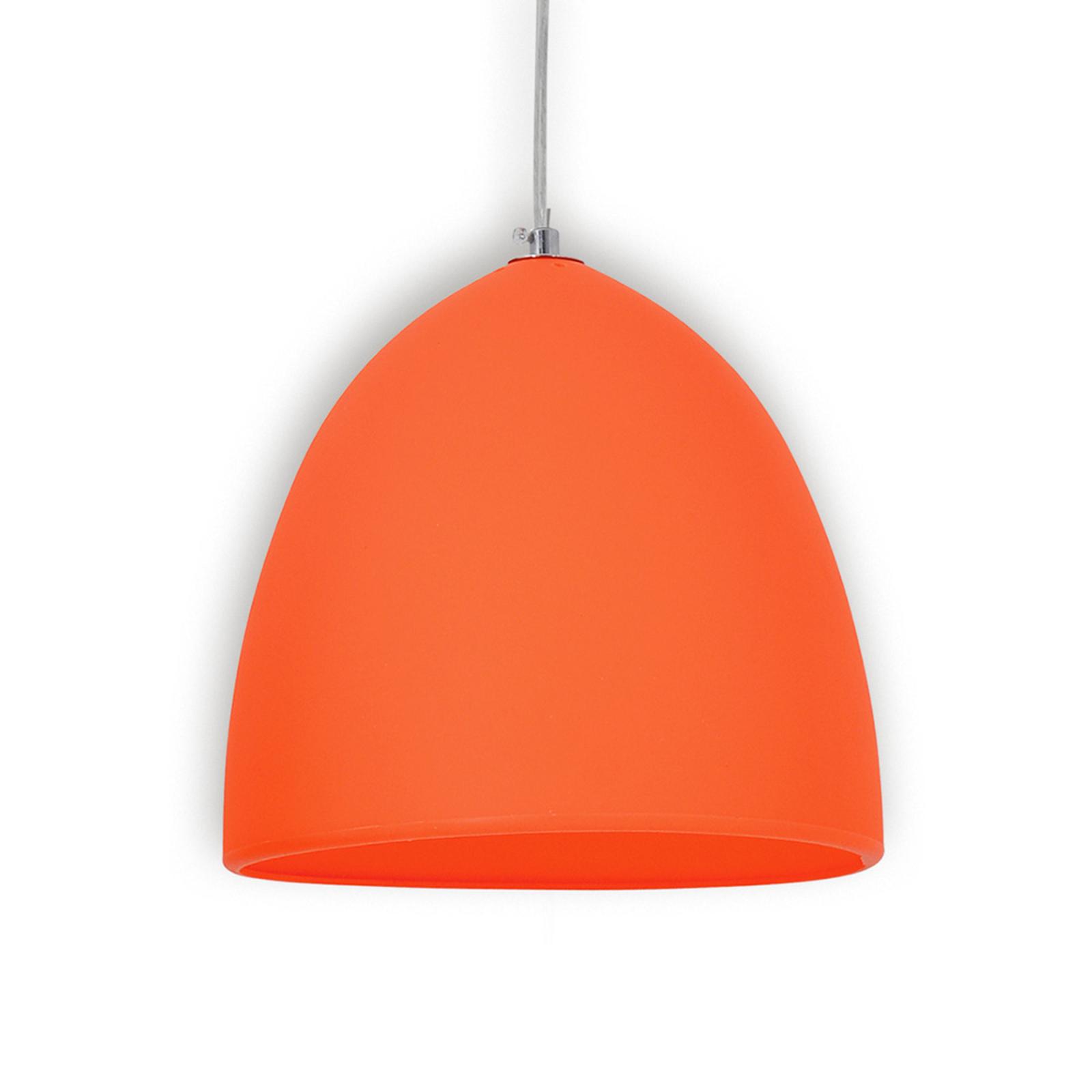 Oranssinvärinen silikoni riippuvalaisin Fancy