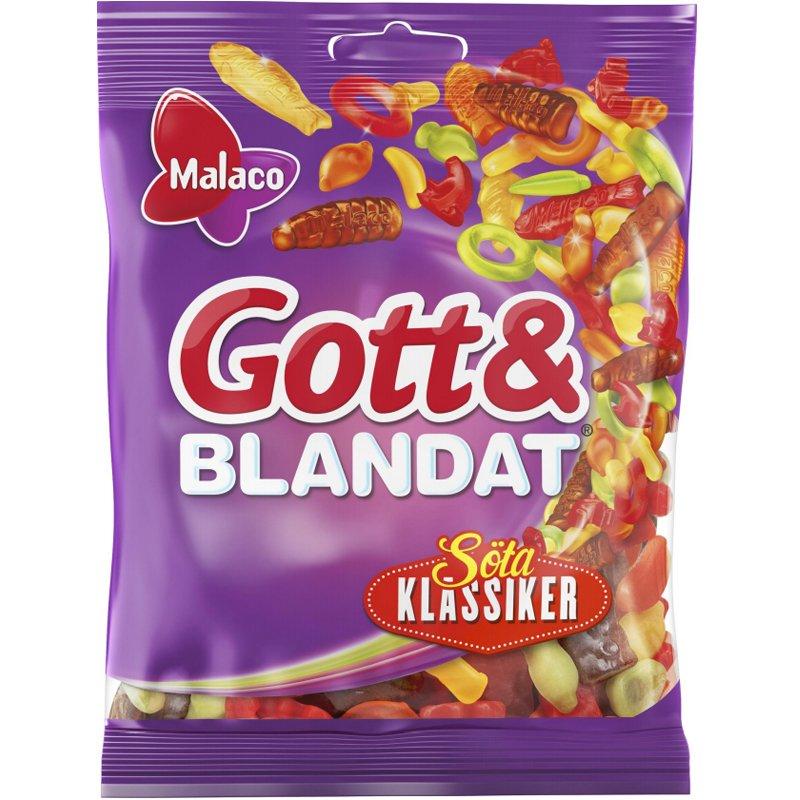 """Gott & Blandat """"Söta Klassiker"""" 130g - 31% rabatt"""