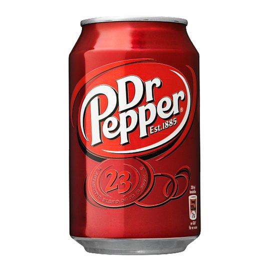 """Läsk """"Dr Pepper"""" 355ml - 64% rabatt"""