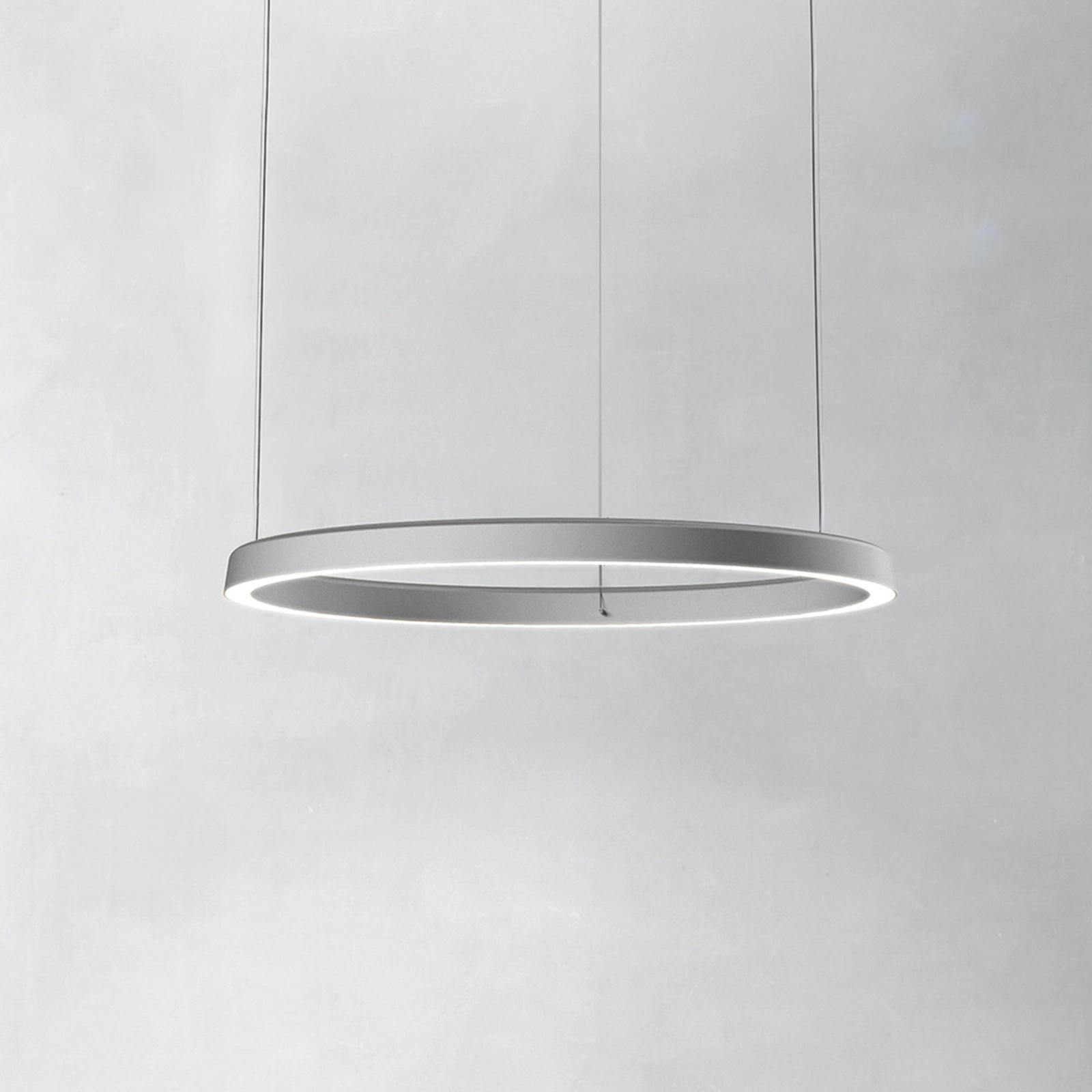 Luceplan Compendium Circle 72 cm, alumiini