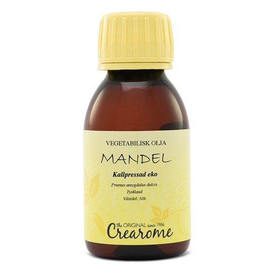Crearome Ekologisk Mandelolja Kallpressad, 100 ml