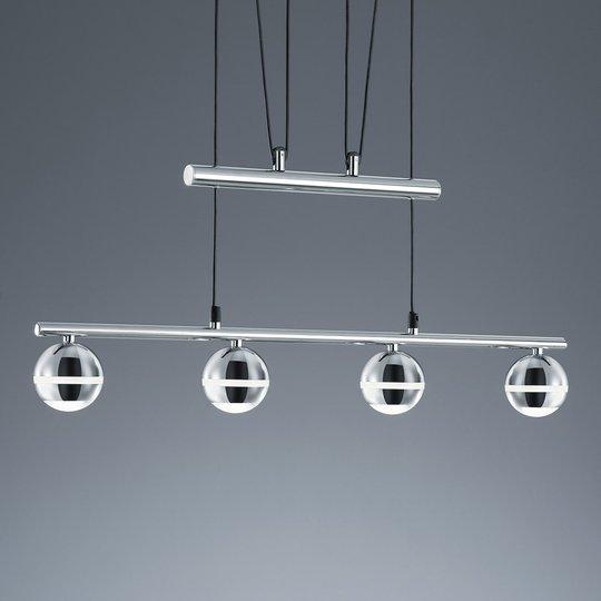 Korkeussäädettävä - LED-riippuvalo Ada 4 lamppua