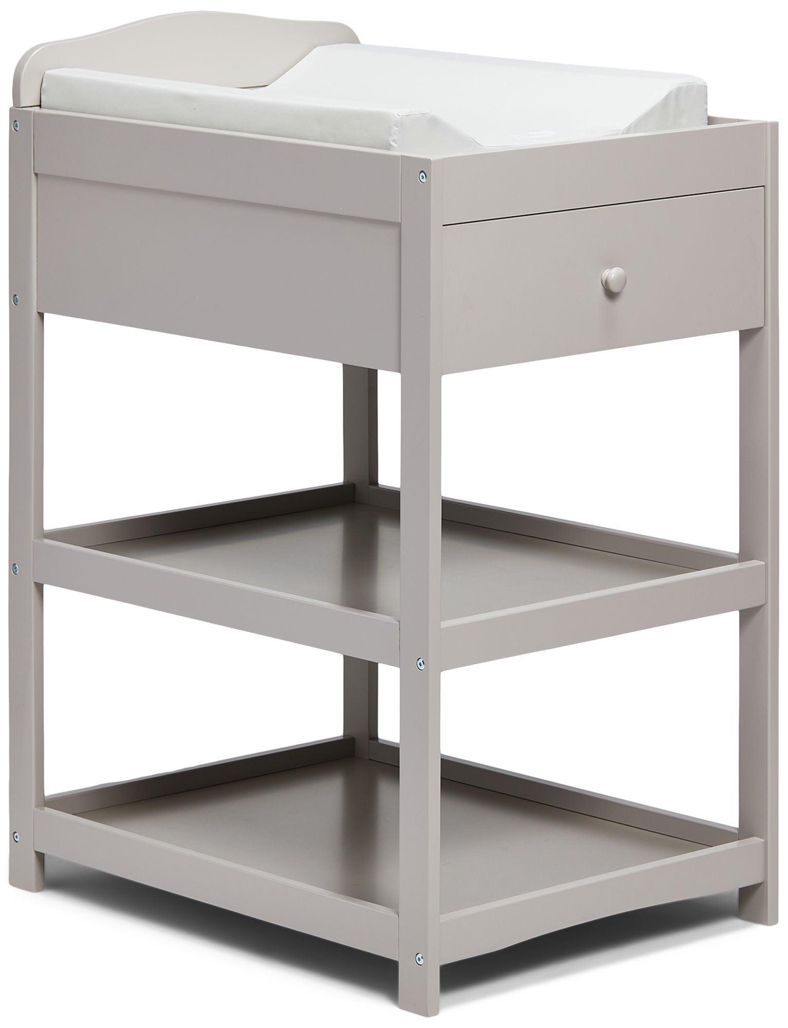 JLY Dream Lux Hoitopöytä, Warm Grey
