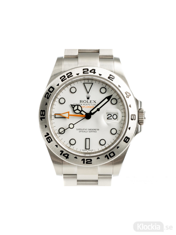 Begagnad Rolex Explorer II 42 GMT Oyster Perpetual 216570
