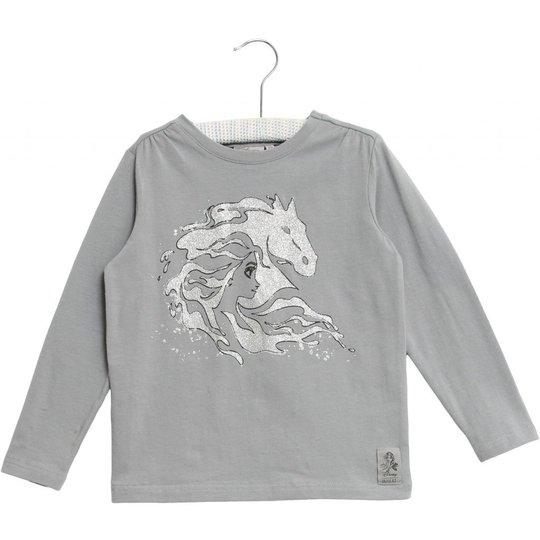 Wheat Frost Elsa Horse T-Shirt, Dove, 92