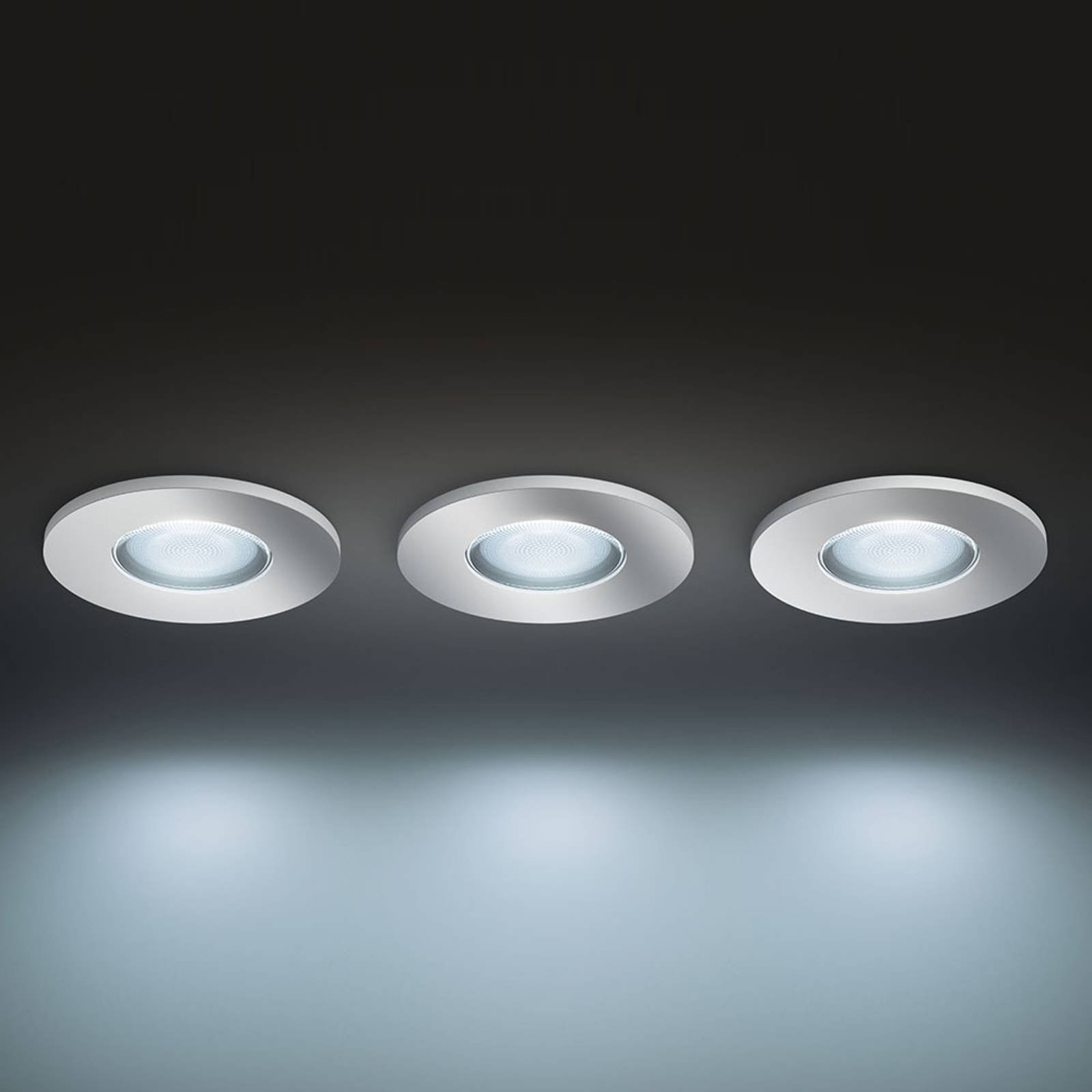 Philips Hue White Ambiance Adore downlight, 3-er