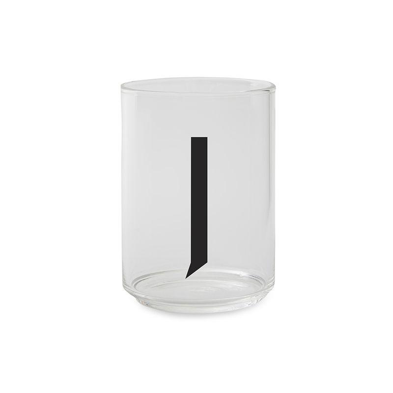 Design Letters - Kids Tritan Personal Drinking Glass - J