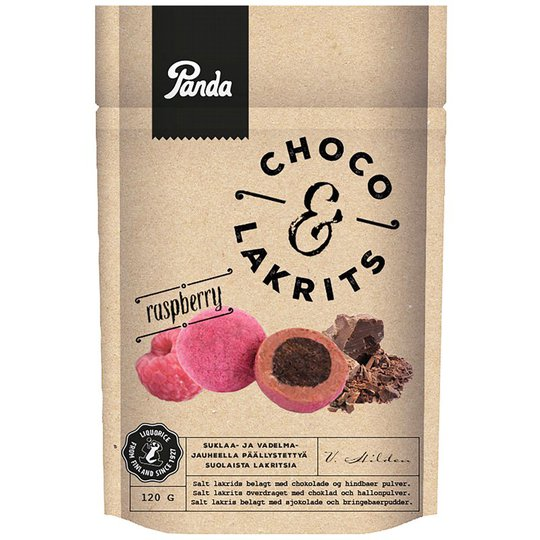 Makeispussi Choco & Lakrits Raspberry - 18% alennus