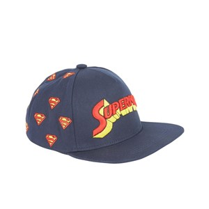 Fabric Flavours Blå Superman Logo Keps One Size (5-10 years)