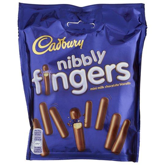 Chokladkex Nibbly Fingers - 50% rabatt