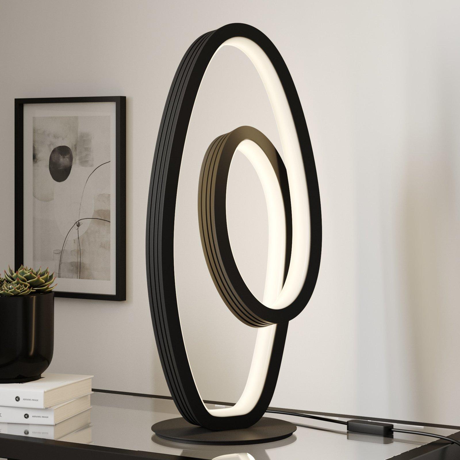 Lucande Bronwyn LED-bordlampe