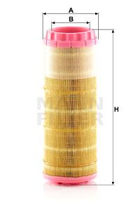 Ilmansuodatin MANN-FILTER C 12 004