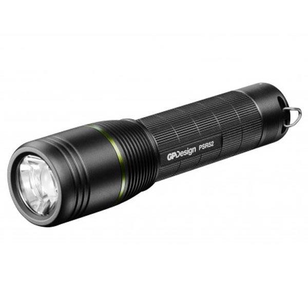 GP Lighting Design PSR52 Lommelykt oppladbar, 4 modus