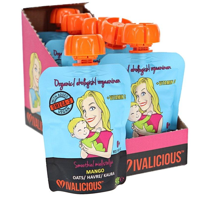 Eko Baby Smoothie - Mango 6-pack - 35% rabatt