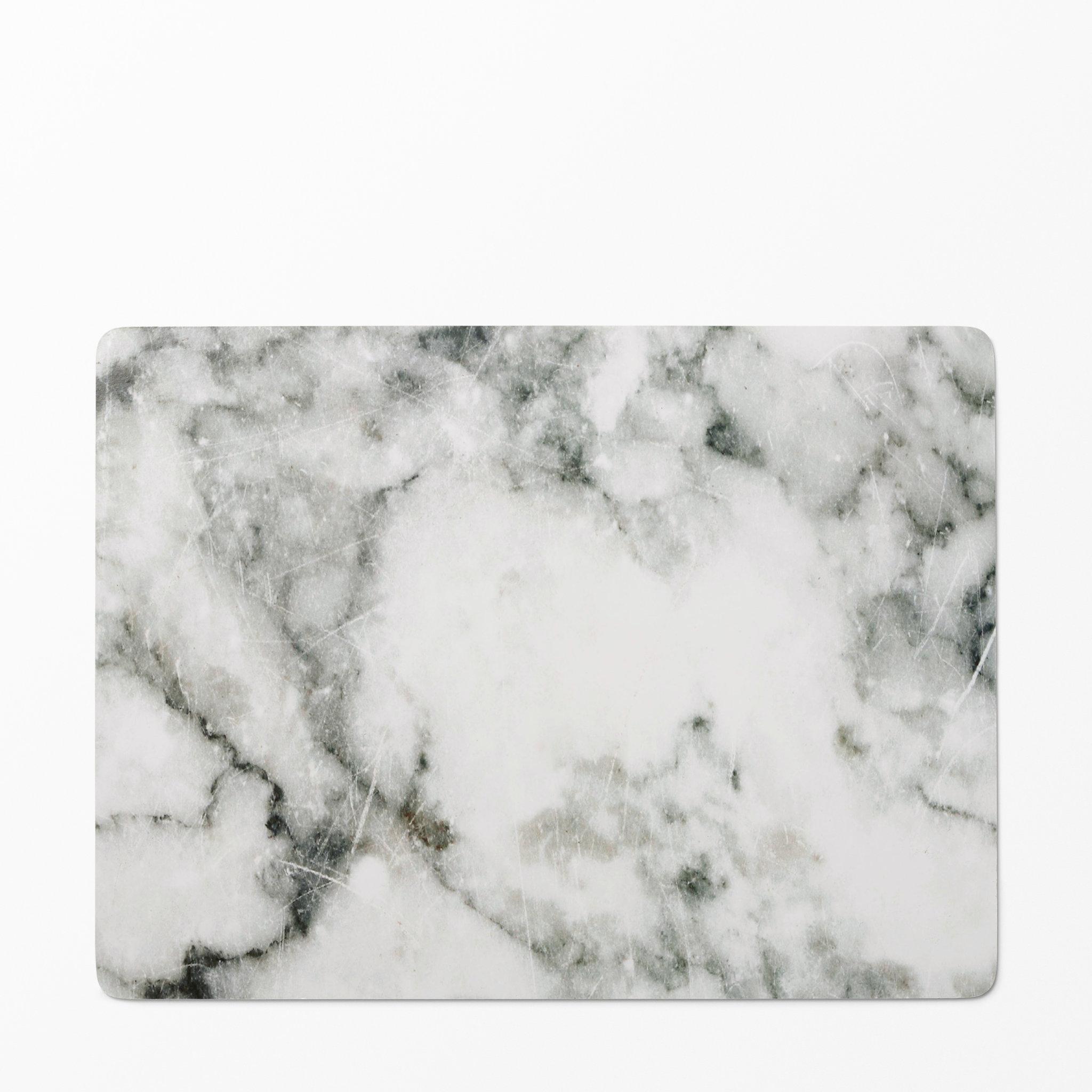 Tablett Marmor, 30x40 cm