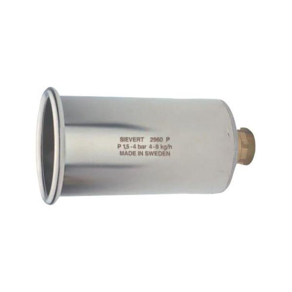 Sievert Pro 296001 Standardbrennere Ø 60 mm, stål