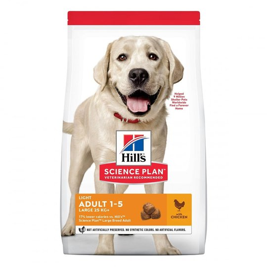Hill's Science Plan Dog Adult Light Large Breed Chicken 14 kg