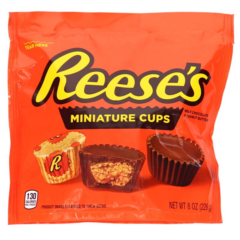 Peanut Butter Cups Miniatures - 25% rabatt