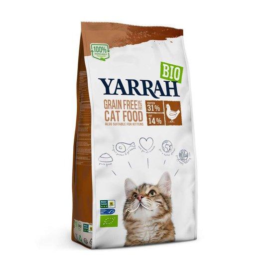 Yarrah Organic Cat Adult Chicken & Fish Grain Free (10 kg)