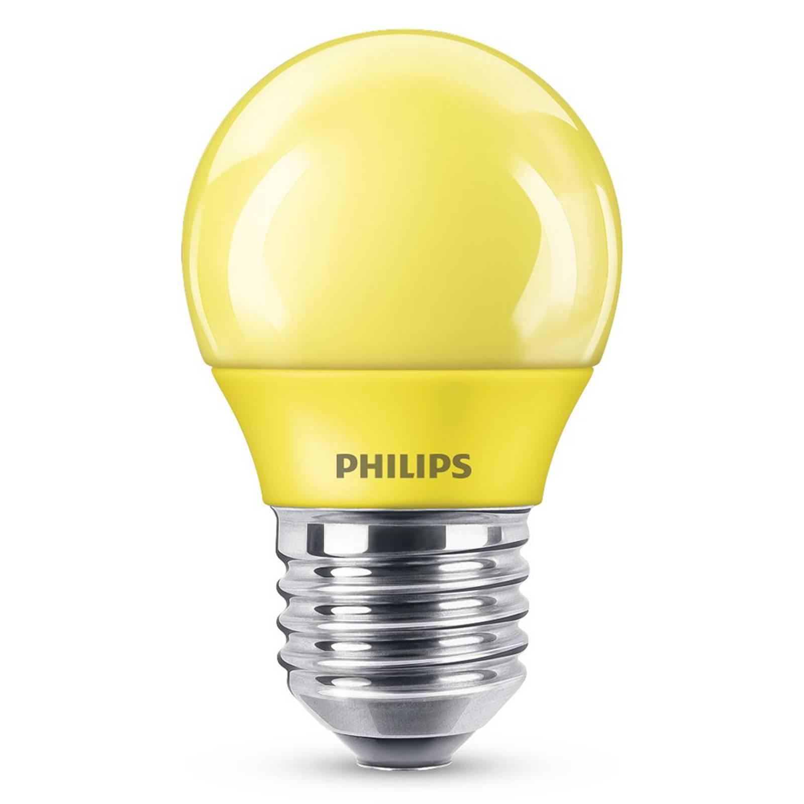 E27 P45 -LED-lamppu 3,1 W, keltainen