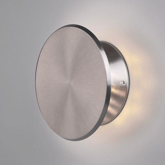 LED-seinävalaisin Gaston, käännettävä, nikkeli