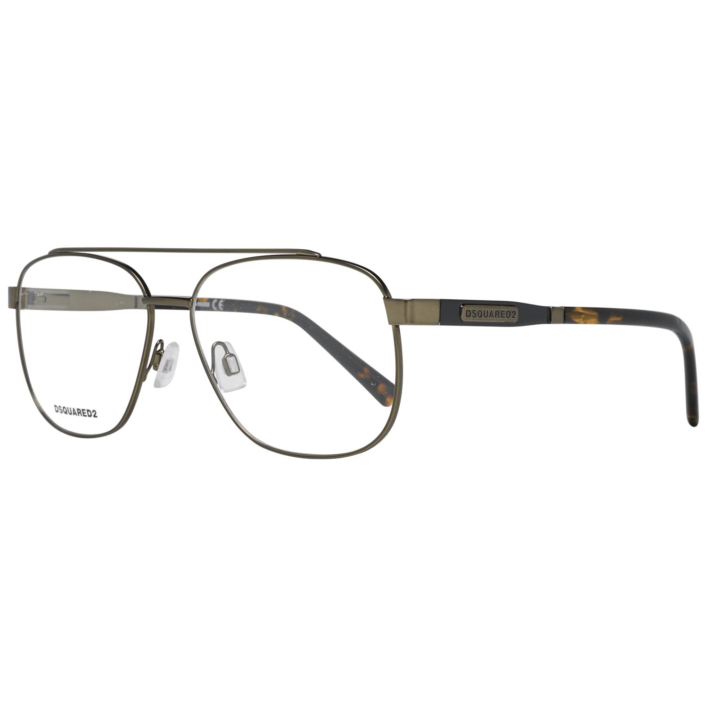 Dsquared² Men's Optical Frames Eyewear Green DQ5309 57098