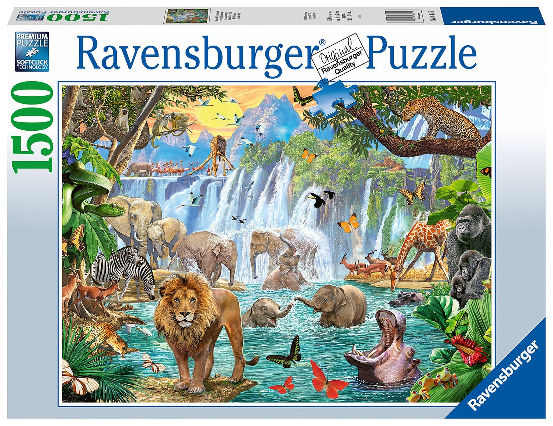Ravensburger Pussel Vattenfall Safari 1500 Bitar