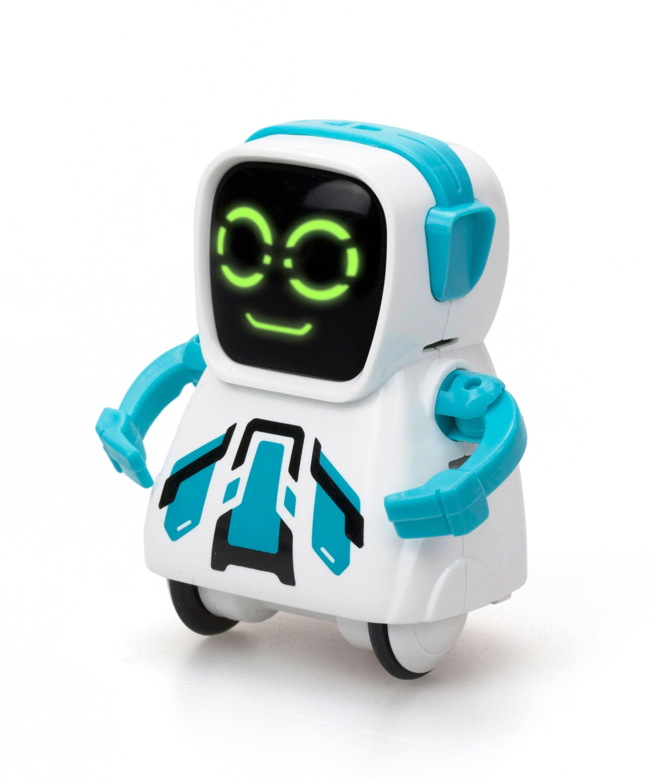 Silverlit - Pokibot Square Robot - Blue