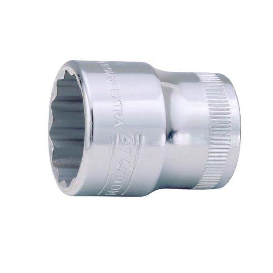 """Bahco A7400DM-20 12-kulmainen hylsy 3/8"""" 20 mm"""