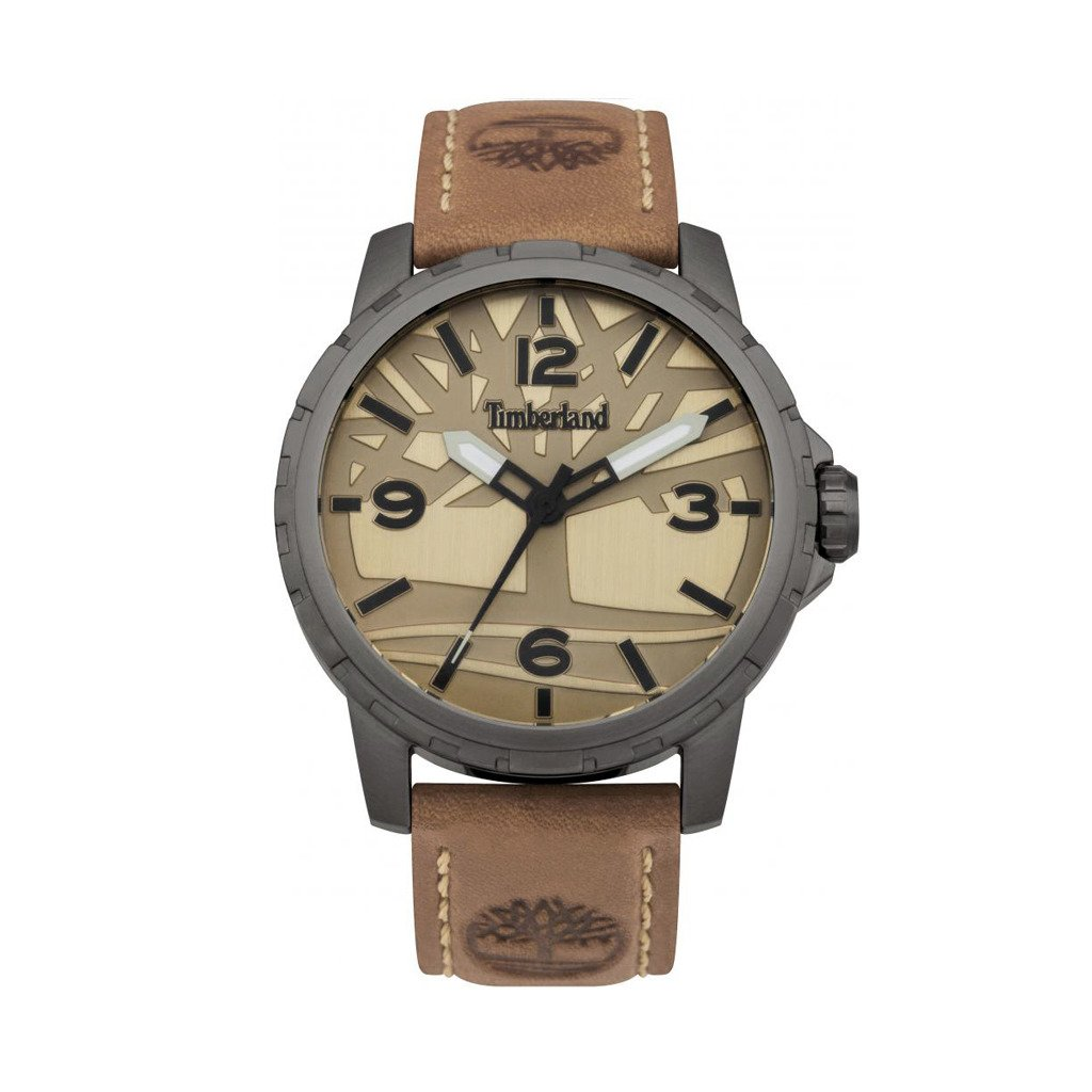 Timberland Men's Watch Brown 15257JSU - brown NOSIZE