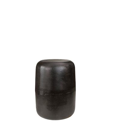 LORENZO stool / side table black