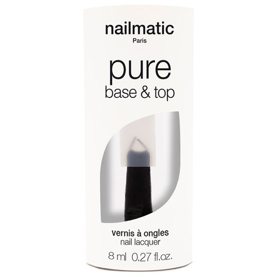 Nailmatic Pure Base & Top Coat 2-in-1, 8 ml