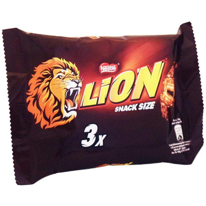 """Godisbar """"Lion"""" 3 x 30g - 54% rabatt"""