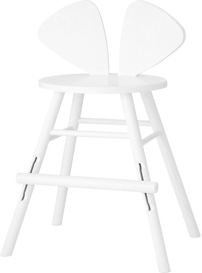 Nofred Mouse Juniorstol, White