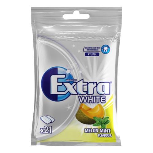 Extra White Melon Mint Tuggummi - 29 g