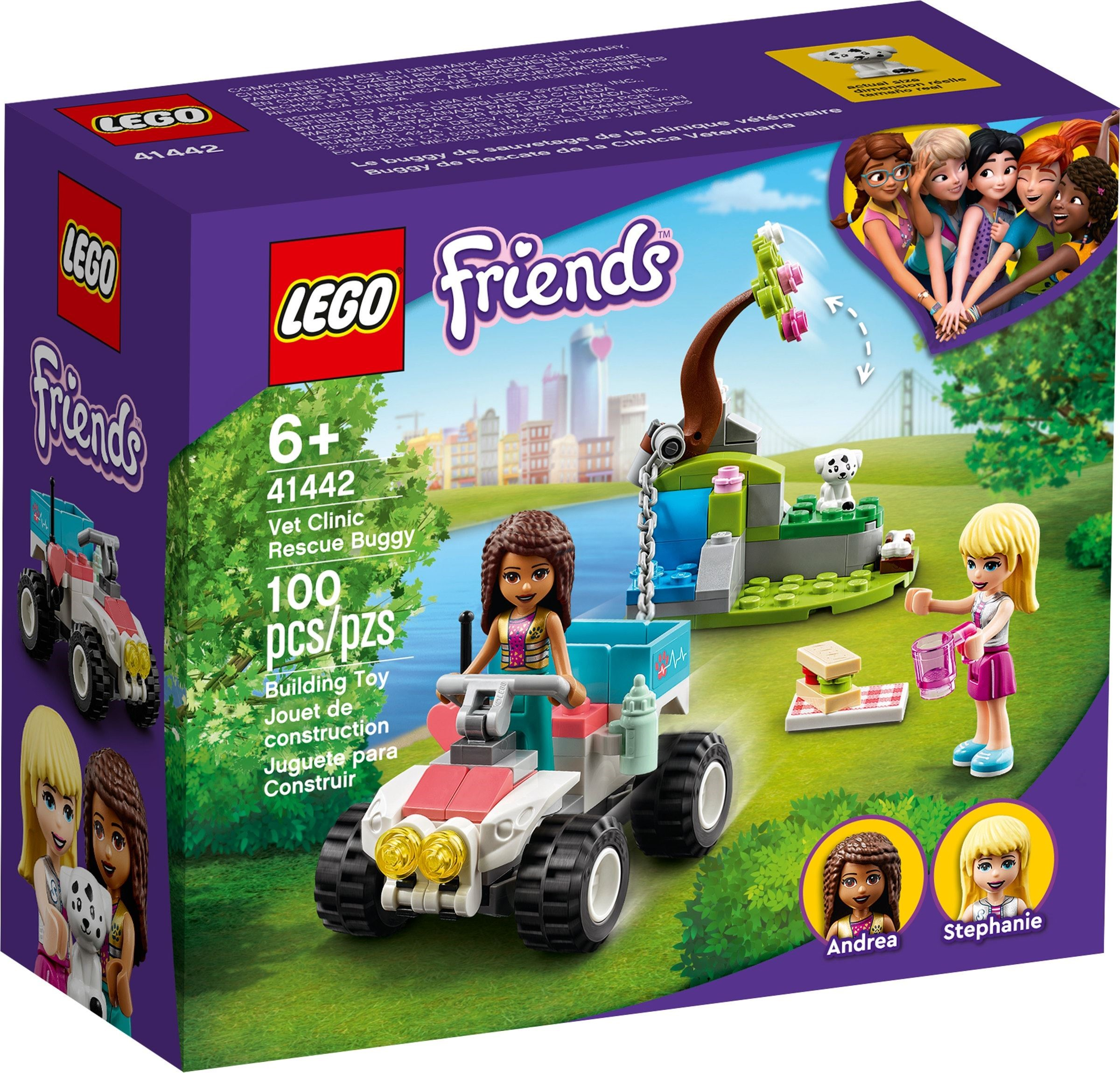 LEGO Friends - Vet Clinic Rescue Buggy (41442)