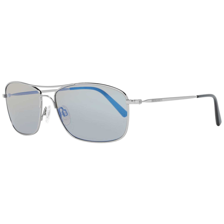 Serengeti Men's Sunglasses Silver 8418
