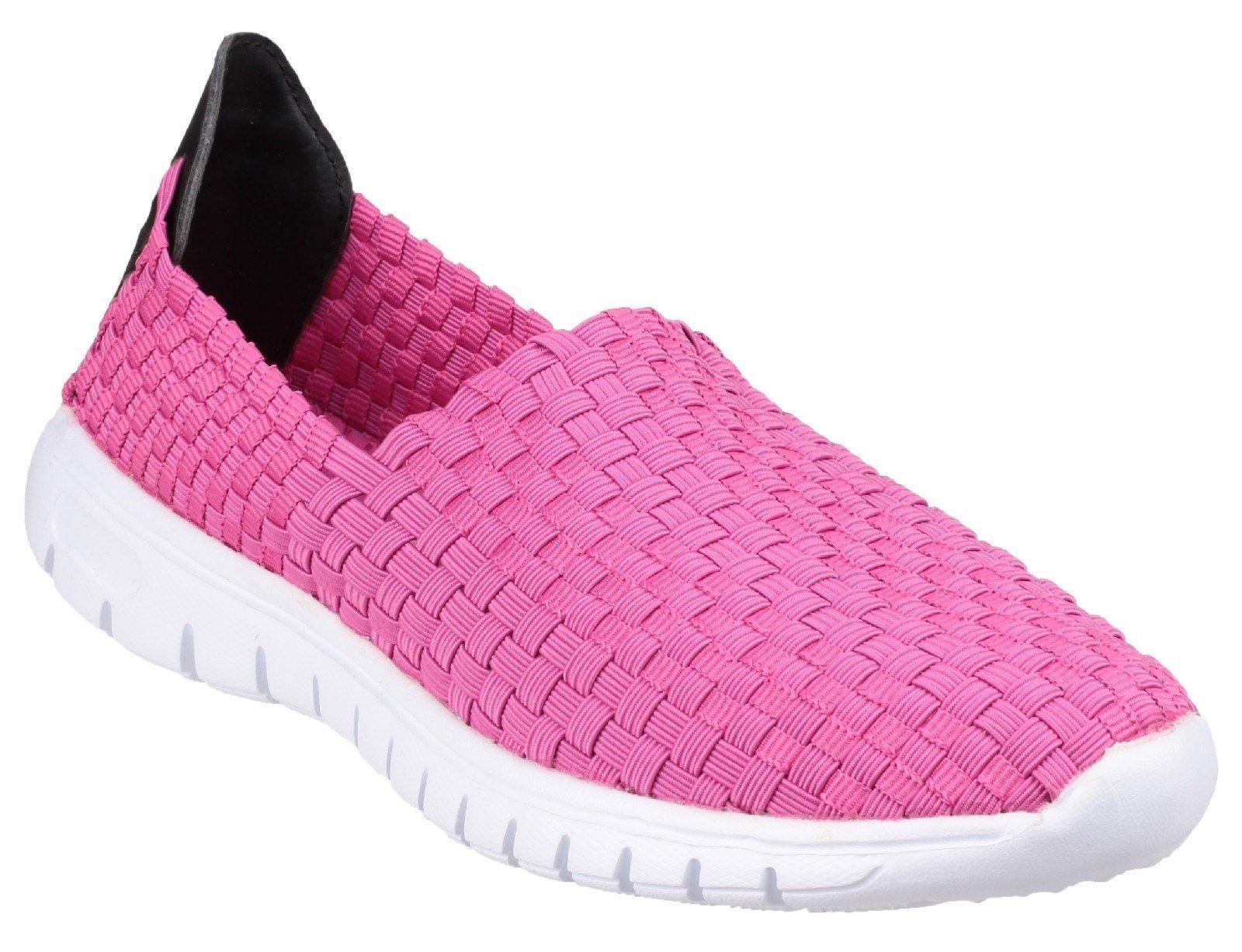 Divaz Women's Raft Shoes Fuchsia 22115-35769 - Fuchsia 3