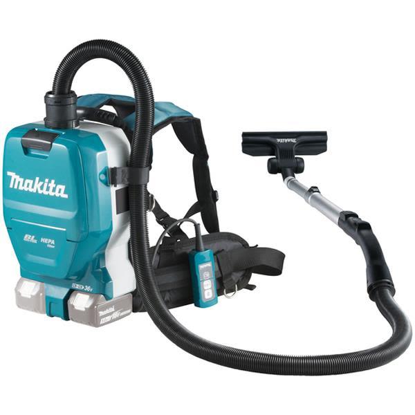 Makita DVC261ZX11 Støvsuger bakmontert, uten batteri og lader