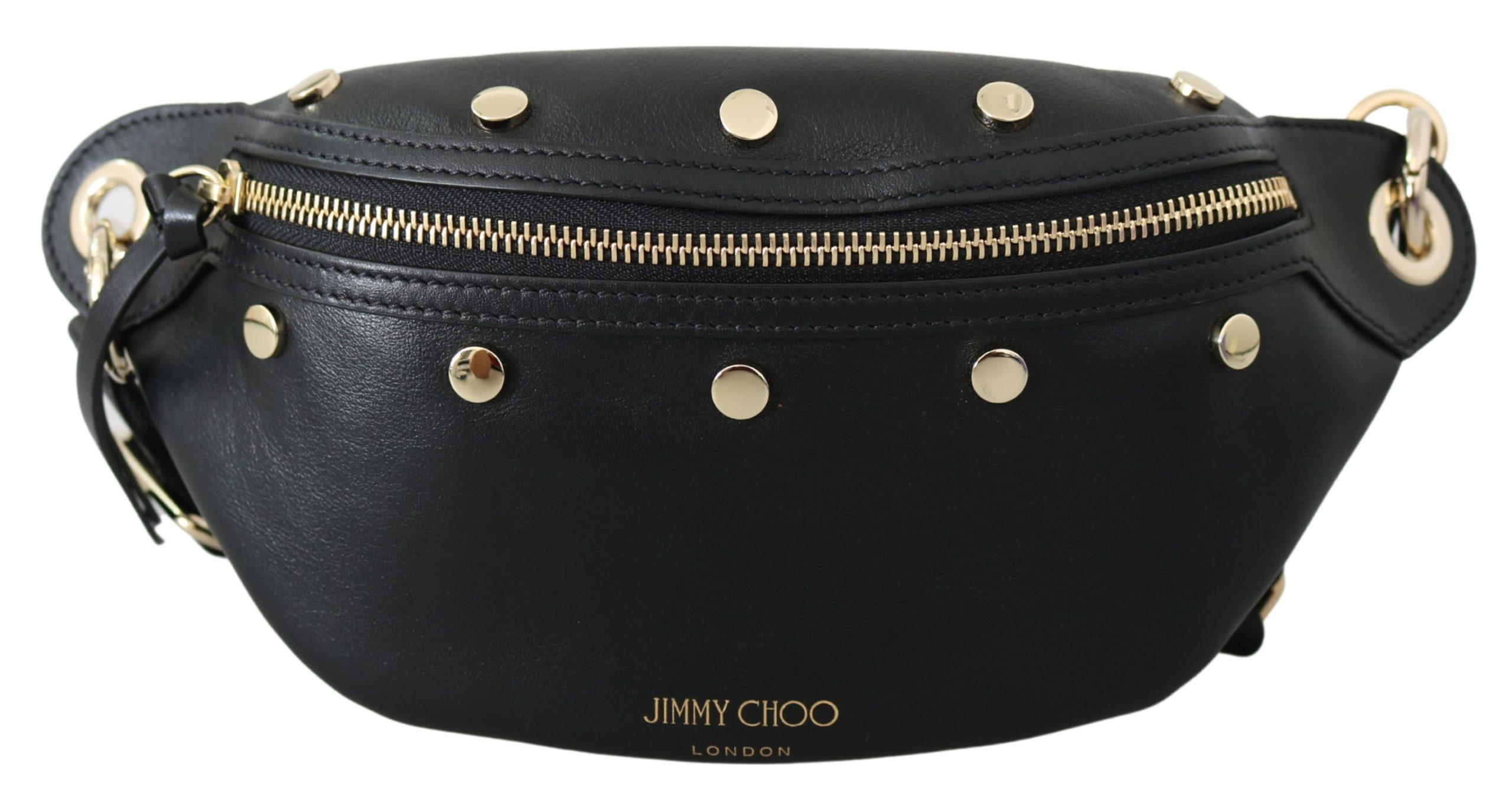 Jimmy Choo Women's Lockett Belt Bag Black 1436310