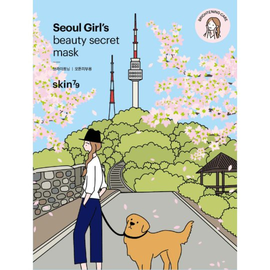 Seoul Girls Beauty Secret Brightening Mask, Skin79 Kasvonaamio