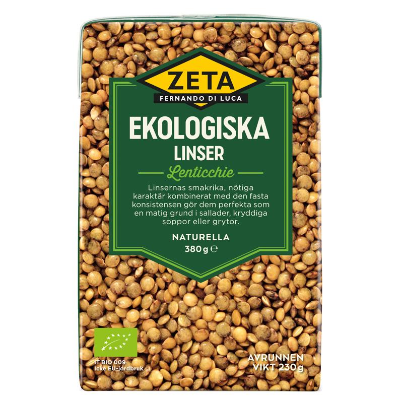 Ekologiska Linser 230g - 66% rabatt
